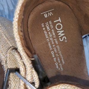 Toms Shoes - TOMS Canvas Wedges